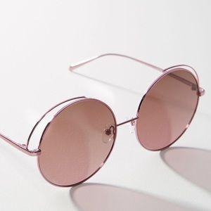 🆕NWT Matt & Nat Pink Oversized Round Sunglasses